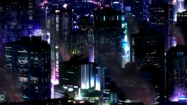 The cityscapes on this show are so sweet