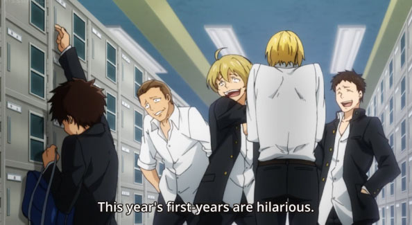 The Gist Its A High School Rugby Club Anime