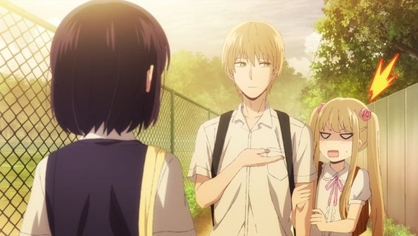 Just As Hanabi And Mugi Are Getting Acclimated A Kinda Sorta Couple Kuzu No Honkai Throws Of Wrenches Into The Works Namely Alternate Love