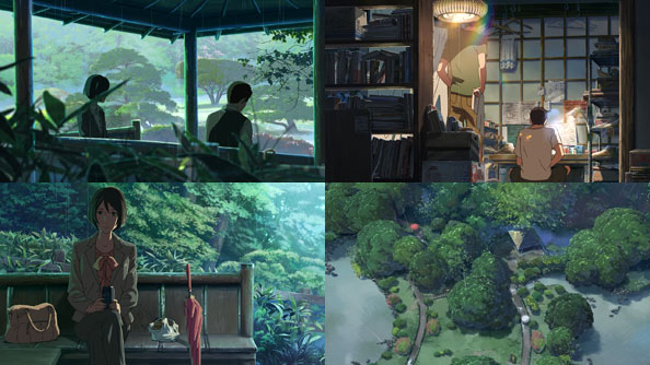 the garden of words film review rabujoi an anime blog. Black Bedroom Furniture Sets. Home Design Ideas