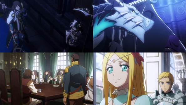 Overlord Anime World Map.Overlord Ii 01 First Impressions Rabujoi An Anime Blog