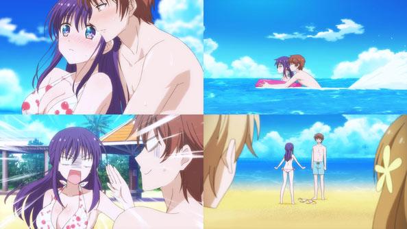 Ao Chan Can T Study 07 Beach Study Rabujoi An Anime Blog