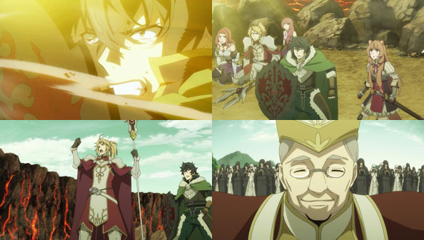 The Rising Of The Shield Hero 19 United Front Rabujoi An Anime Blog