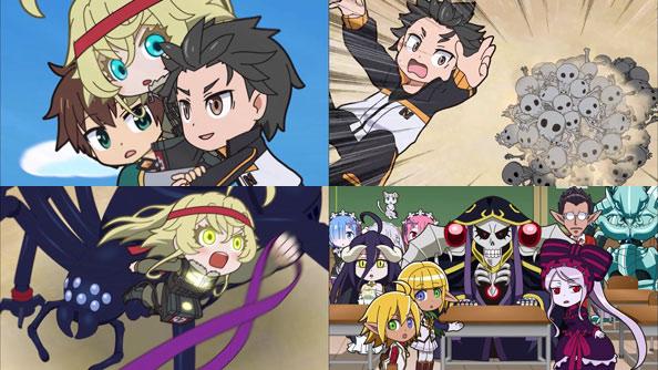 Isekai Quartet Rabujoi An Anime Blog