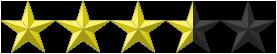 3 1/2 Stars